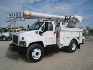 Used Bucket Truck Atlas
