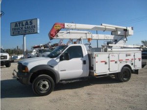 Atlas Bucket Truck Ford Terex