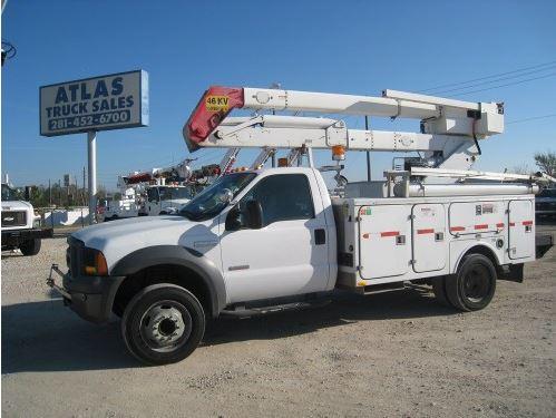 Atlas Bucket Truck Ford Terex