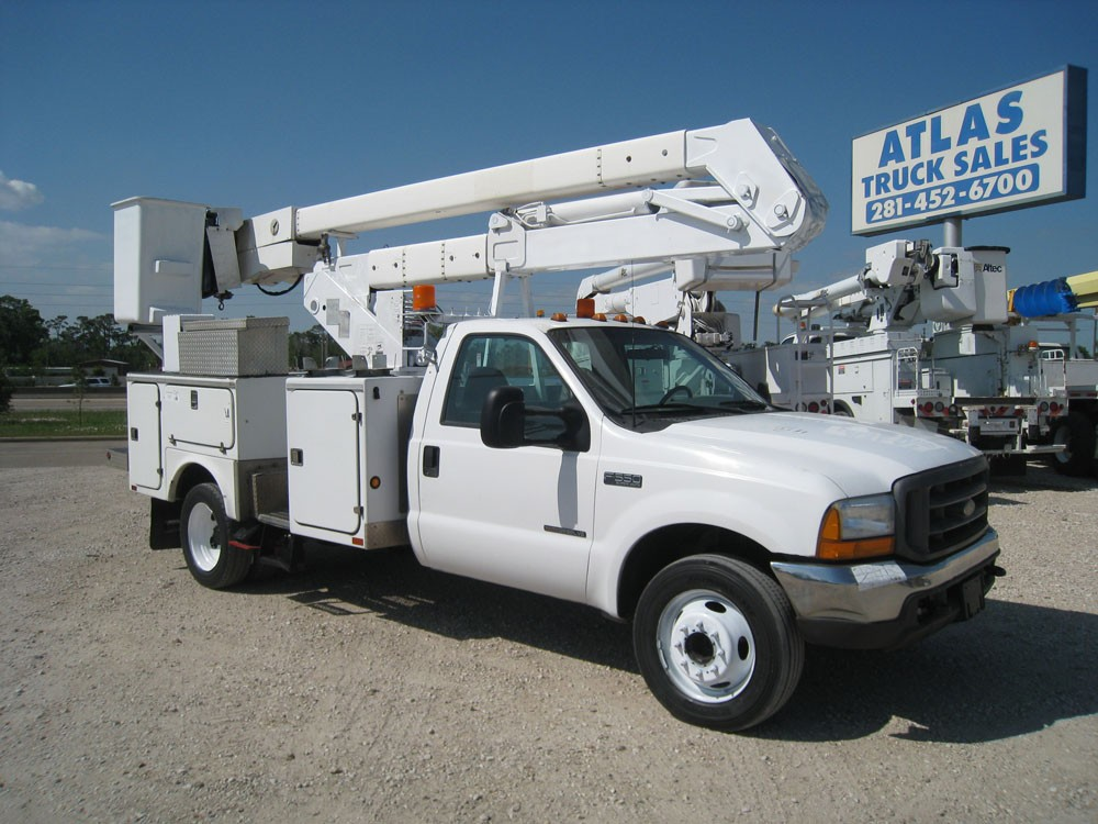 Hi-Ranger bucket truck for sale.