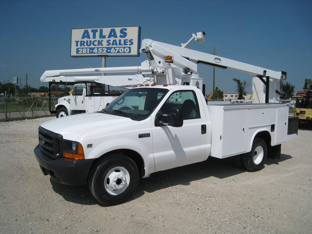 Telsta A 28 D Bucket Truck.