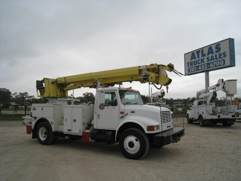 Altec Digger Derrick Trucks for sale.
