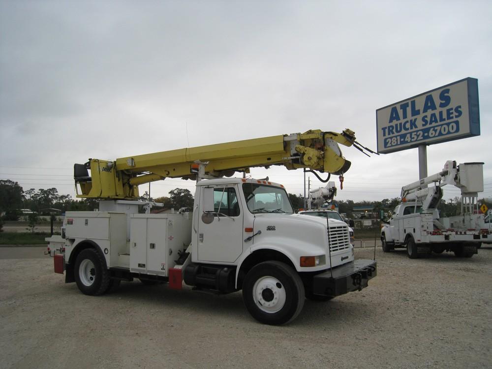 Altec Digger Derrick Trucks for sale.