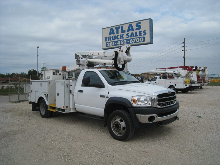 Sterling Bullet / Altec Bucket Trucks