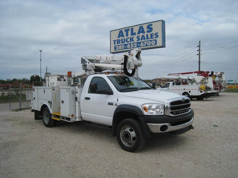 Atlas Truck Sales >> Bucket Truck B9921 Atlas Truck Sales Inc