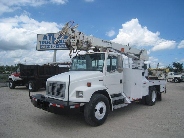 Digger & Bucket Truck.