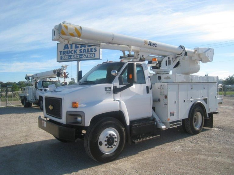 Chevrolet Altec Bucket Truck