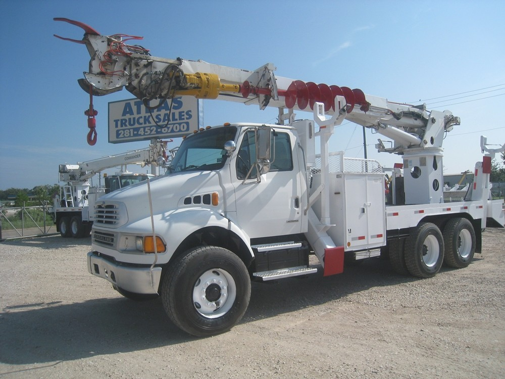 Sterling Digger Truck