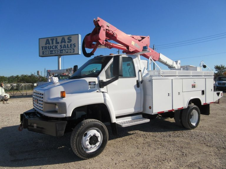 GMC ALTEC BUCKET TRUCK !