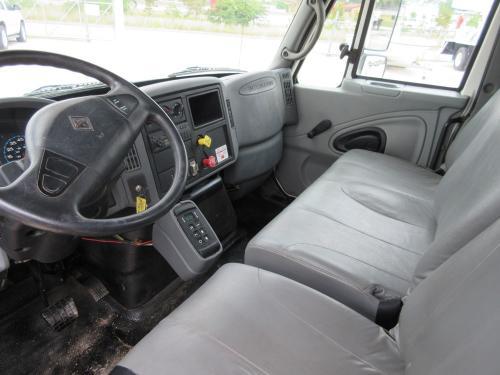 Bucket Truck Interior.