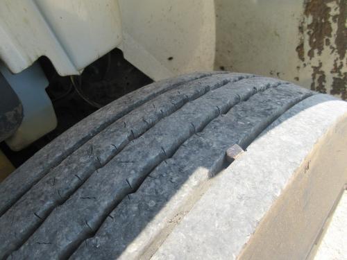 Nice bucket truck tires.