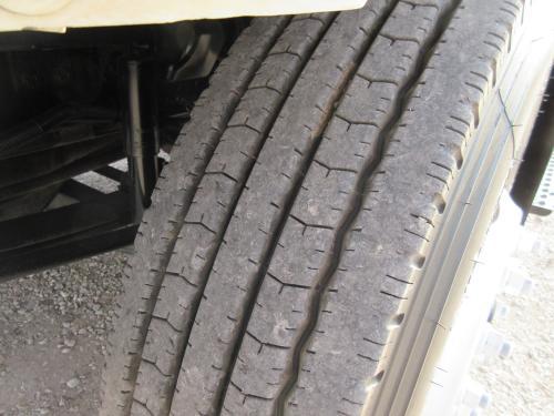 Digger truck tire.