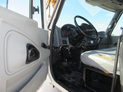 Digger truck door