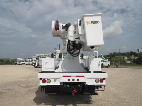 Altec two man bucket truck.