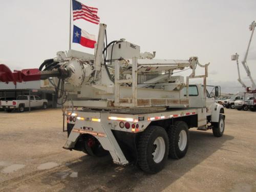 Altec Pressure Digger Truck.