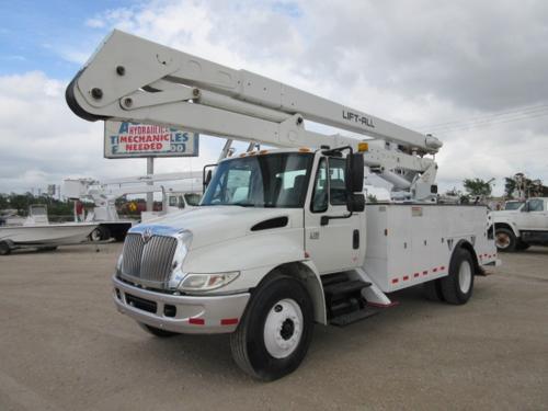 60 foot bucket truck.
