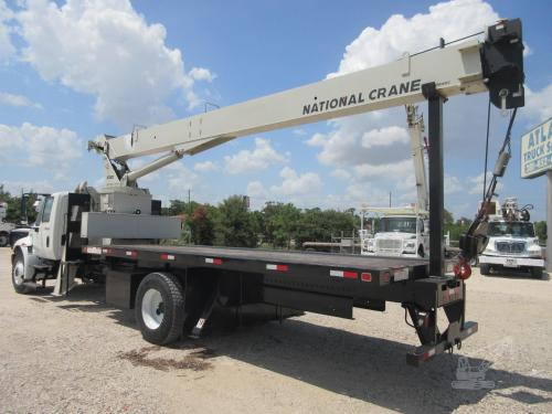 Crane Truck Drivers Side