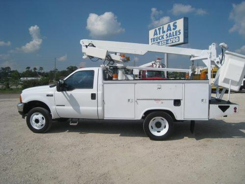 Ford Bucket Truck.