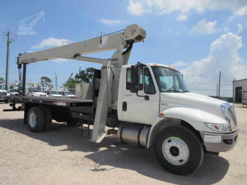Crane Truck Passenger Side